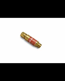 DGN visszavágás gátló patron red. G3/8″ LH égőgázhoz