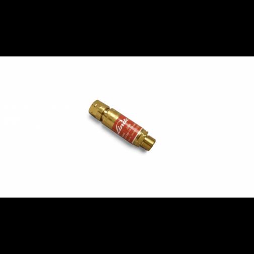 """DGN visszavágás gátló patron red. G3/8"""" LH égőgázhoz"""